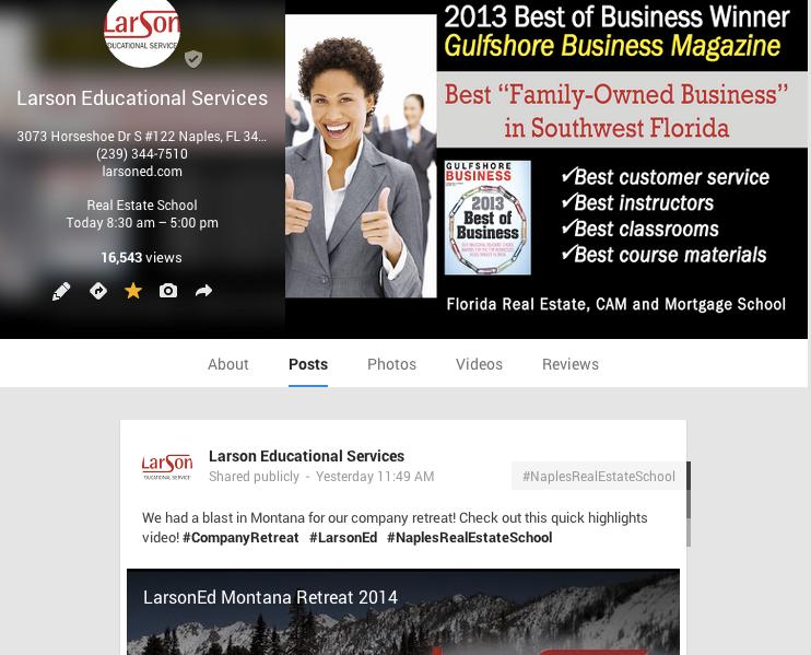larson exam tutor – Naples Real Estate School