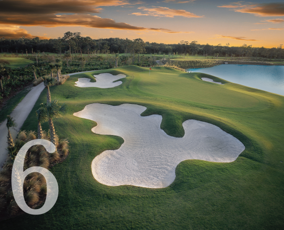 Fort Myers has more challenging and fun golf courses than you can play in a short vacation.