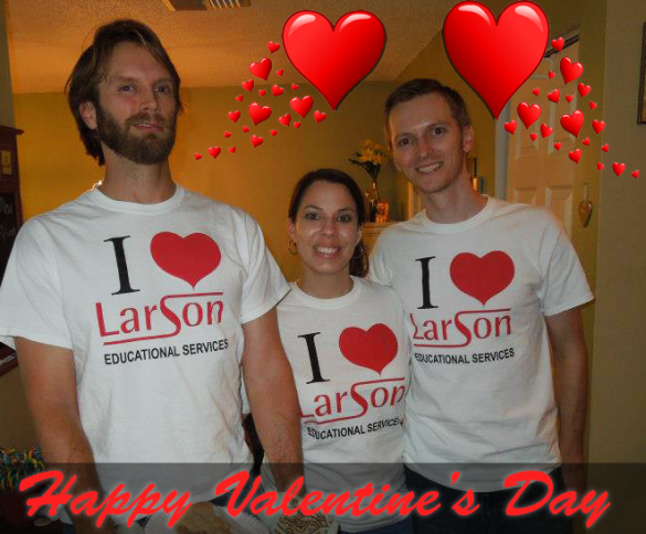 valentines day larsoned