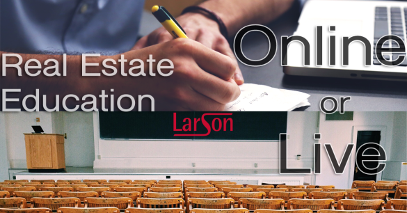 Real estate education live or online