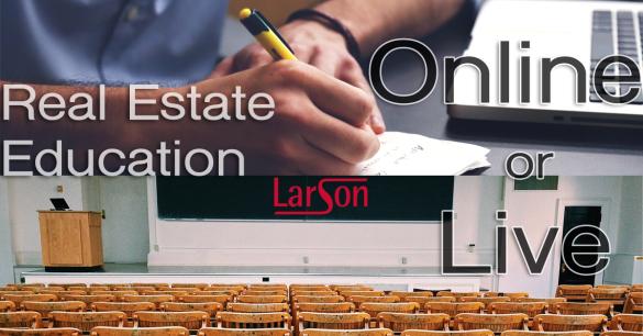 Real estate education live or online