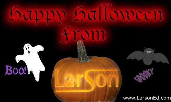 Happy halloween larsoned