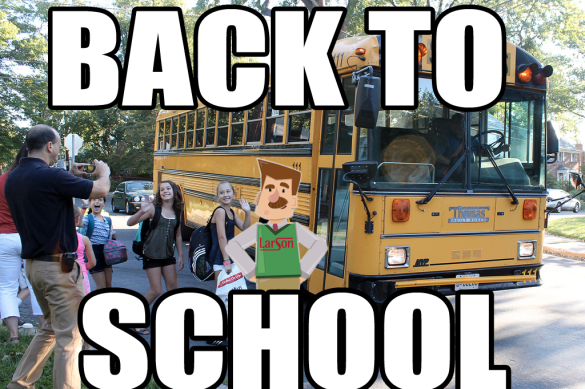back to school larsoned