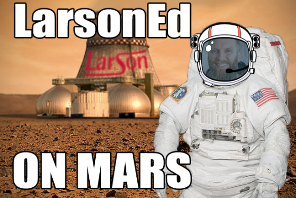 larsoned on mars