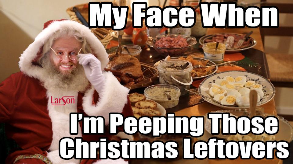 christmas larsoned