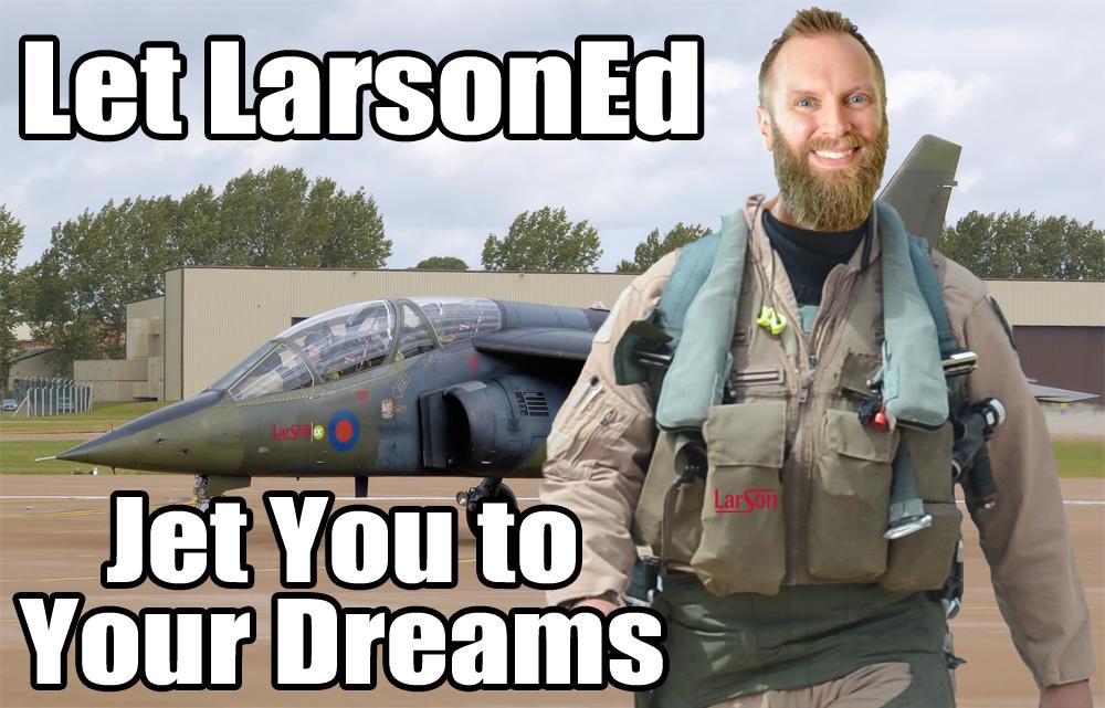 jet fighter larsoned
