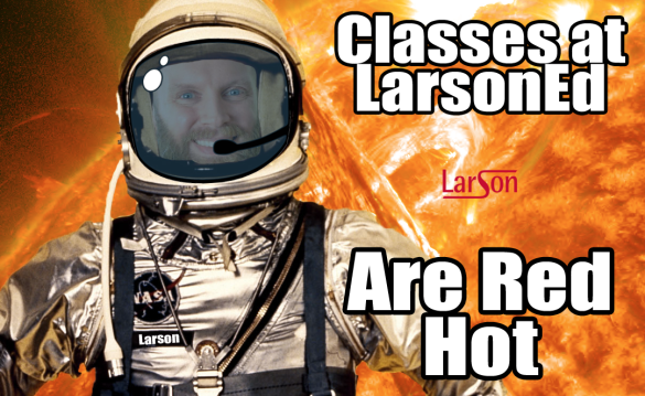 larsoned is red hot